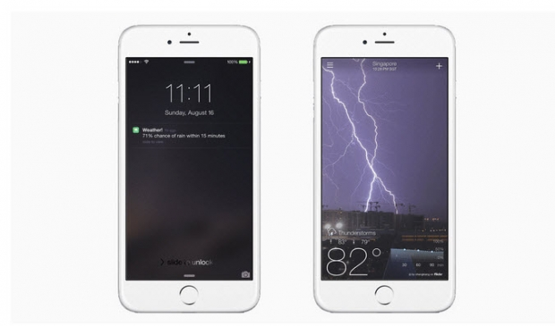 แอพฯ Yahoo Weather แจ้งเตือนก่อนฝนตก 15 นาที