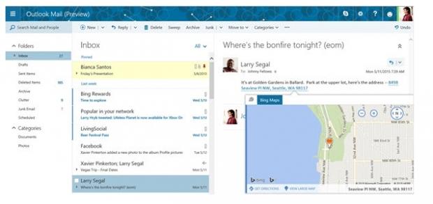 ไมโครซอฟท์เผย Outlook.com โฉมใหม่ อัพเดทปรับปรุงเพิ่มฟีเจอร์เพียบ