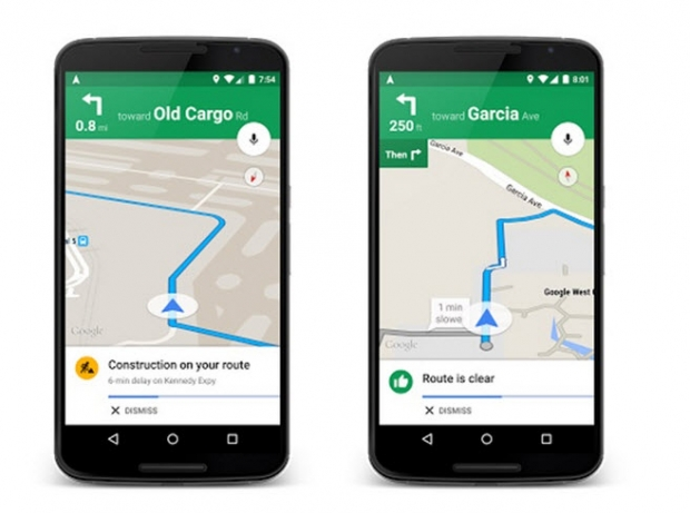 Google Maps เพิ่มฟีเจอร์แจ้งเตือนล่วงหน้าเมื่อรถติด