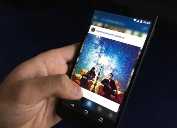 อินสตาแกรมเพิ่มฟีเจอร์พรีวิวรูปบน Android