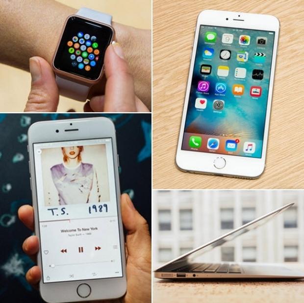 สินค้า แอปเปิลเปิดตัวปี 2015 แต่มีแค่ iPhone ที่ครองแชมป์