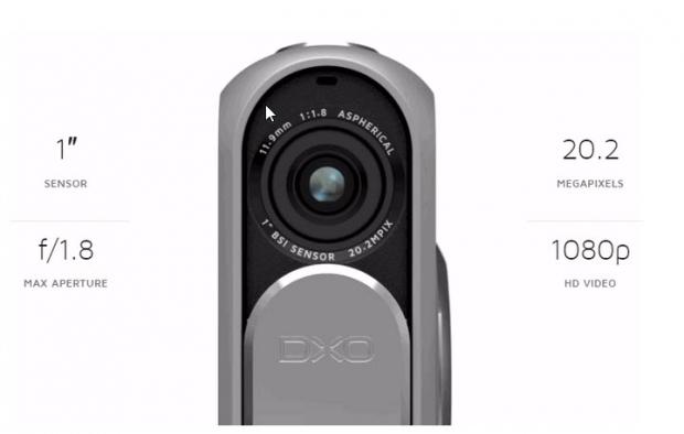 DxO One อุปกรณ์เสริมที่มีไว้ใช้เชื่อมต่อกับ iPhone