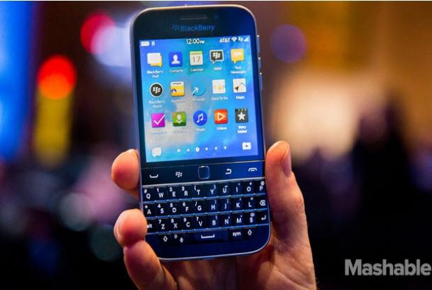 BlackBerry เตรียมพัฒนาสมาร์ทโฟนปลอดเชื้อ