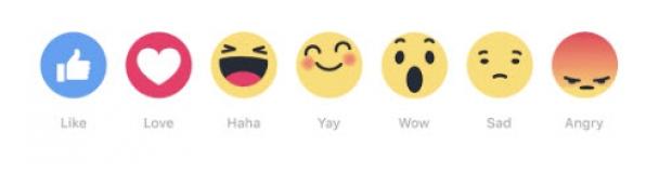 เฟซบุ๊กเตรียมเพิ่มปุ่ม Reactions