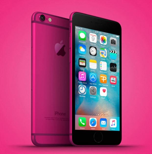 เผย iPhone 5se มาพร้อมสีใหม่ Hot Pink