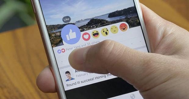 เฟซบุ๊กเริ่มเปิดให้ใช้ปุ่ม Reactions