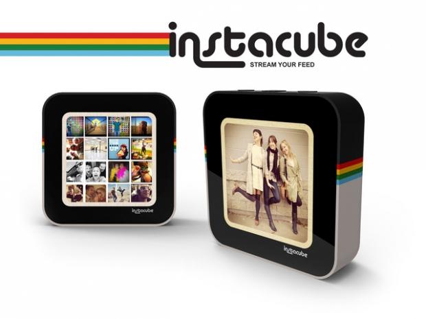 Instacube กรอบรูปดิจิตอลที่สามารถแชร์รูปจาก Instagram ไร้สาย