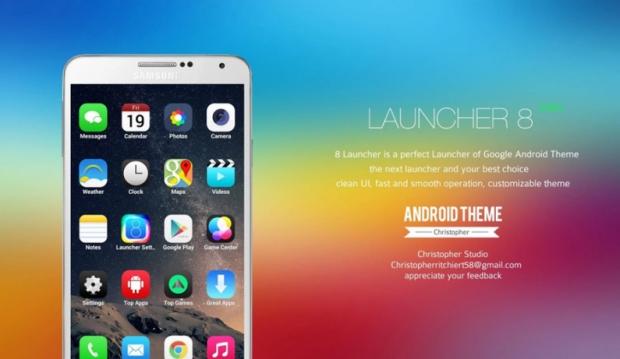แอพพลิเคชั่นที่จะทำให้ Android กลายเป็น iOS ในพริบตา