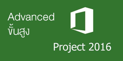 Advanced Microsoft Project 2016/2019 ขั้นสูง