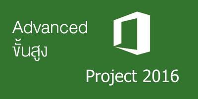 Advanced Microsoft Project 2016/2019 ขั้นสูง