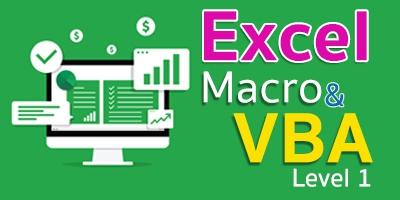 Macro VBA บนไมโครซอฟต์เอ็กเซล ระดับที่ 1