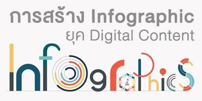 การสร้าง Infographic ยุค Digital Content