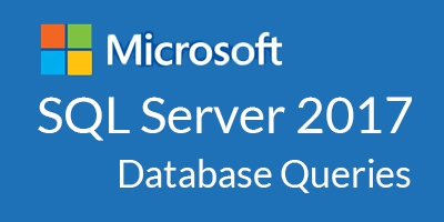 Microsoft SQL Server 2017 Database Queries