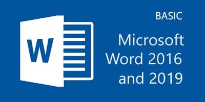 Basic Microsoft Word 2016/2019 พื้นฐาน