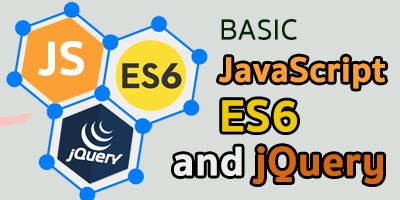 Basic JavaScript ES6 and jQuery