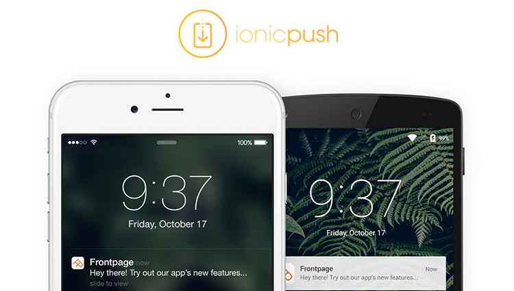 การทำ Push Notifications ใน Ionic