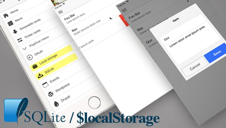 การเก็บข้อมูลแบบ Local ด้วย Ionic Storage