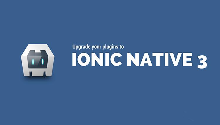 การใช้งาน Ionic Native