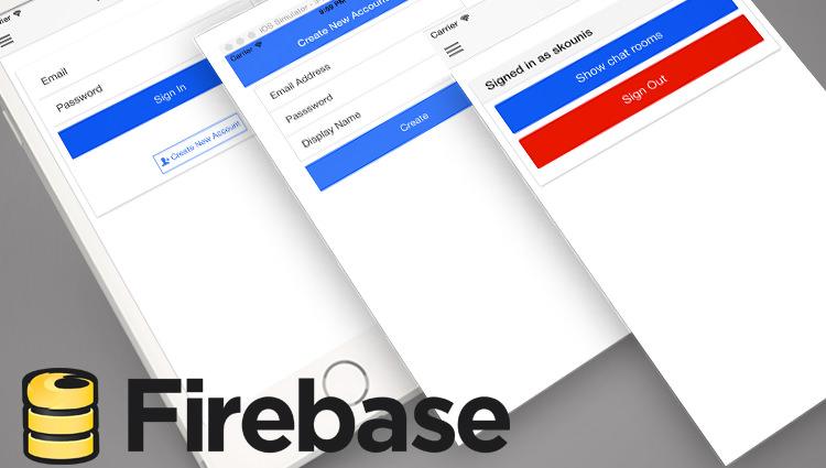 การเขียน Ionic เชื่อมต่อกับ Firebase