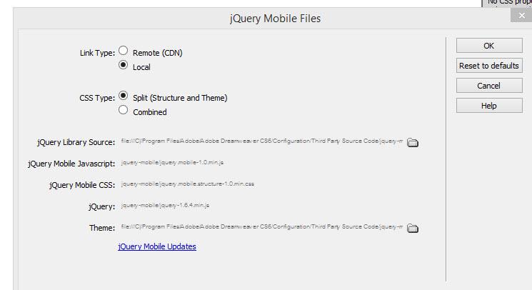 รูปแบบการสร้างไฟล์ jQuery Mobile   ไอทีจีเนียส เอ็นจิเนียริ่ง จำกัด